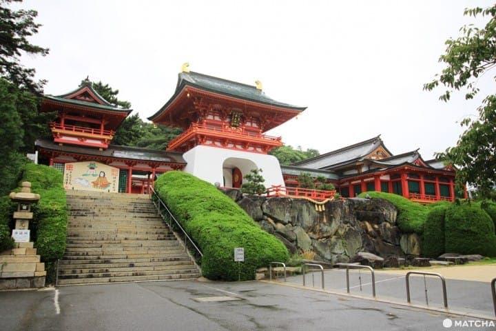 從九州門司港玩到山口!「赤間神宮」如龍宮殿的傳說景點
