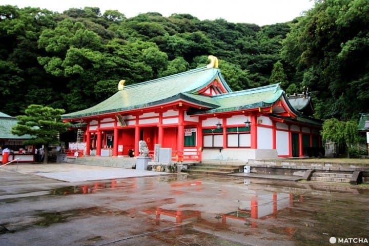 【山口縣】赤間神宮-拜殿2