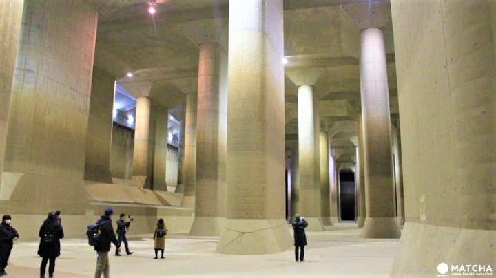 Simply Amazing! Tokyo's Metropolitan Area Outer Underground Discharge Channel