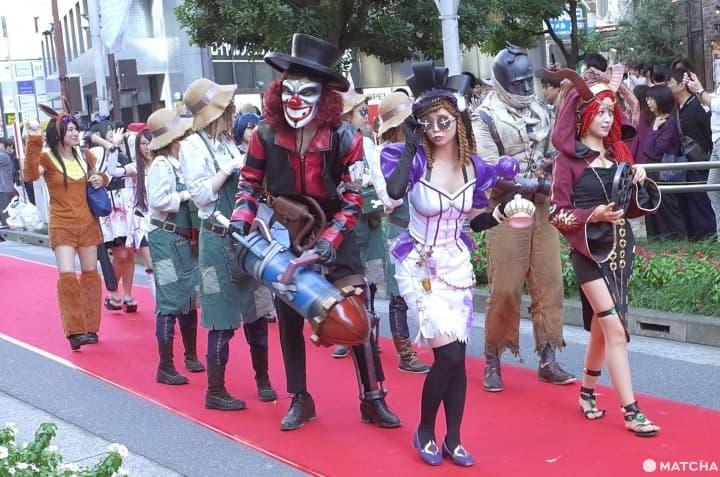 Ikebukuro Halloween Cosplay Fest 2019 - Not Your Usual Creepy Parade
