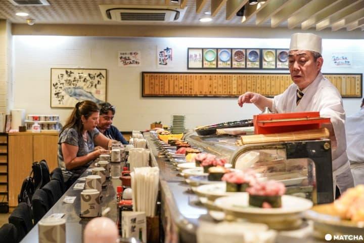 【回转寿司】好吃的寿司在这里!不烧钱人气爆表东京好店7选