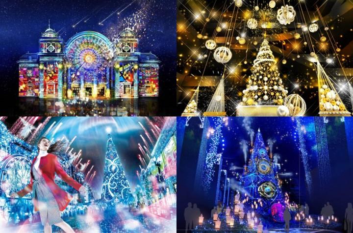 2019-2020年關西大阪「聖誕燈飾」景點整理