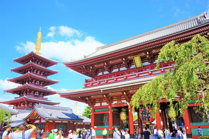 Tokyo's Architectural Marvels! TOKYO SKYTREE, Sensoji Temple, And More