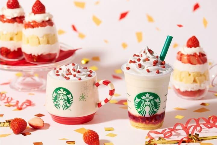ต้อนรับคริสต์มาสแสนหวานด้วย Merry Strawberry Cake จาก Starbucks