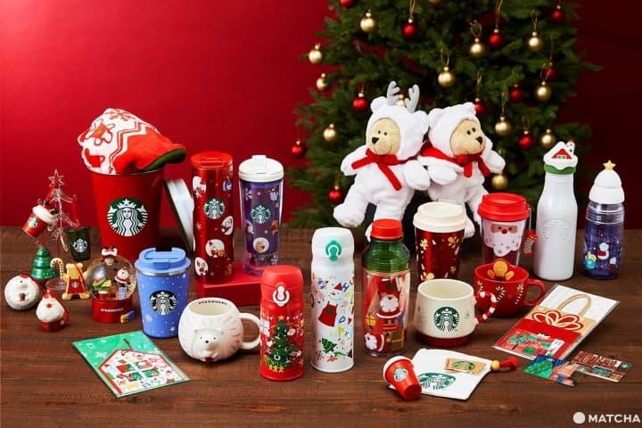 แก้วน้ำ ทัมเบลอร์ และสินค้าคริสต์มาสจาก Starbucks