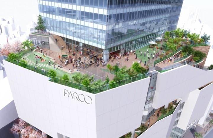 澀谷購物PARCO top
