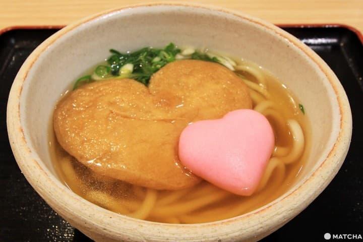 鎌倉人這樣點餐啦!沒人萌得過的愛心烏龍麵