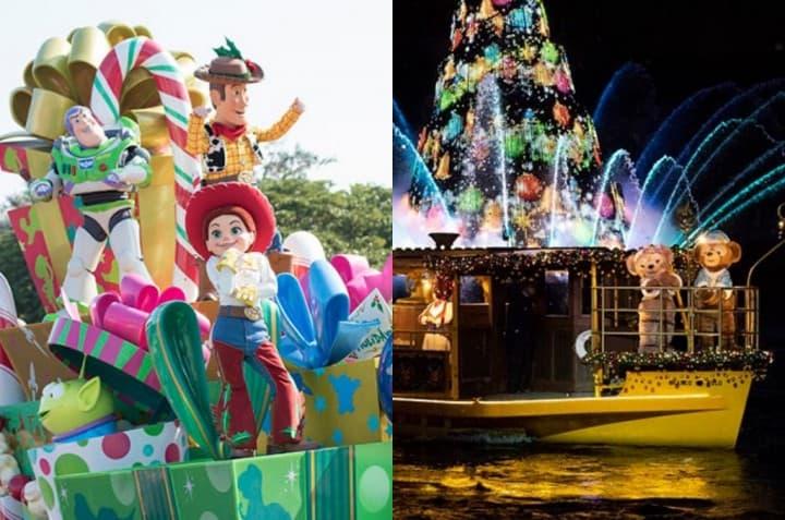【东京迪士尼】圣诞特别活动!海洋&乐园梦幻与欢乐满载!
