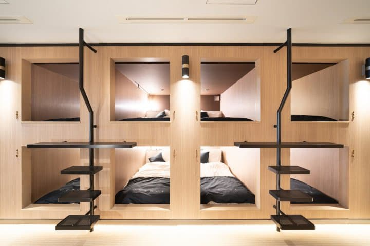 6 Stylish Tokyo Capsule Hotels Lodge Comfortably While Saving Yen Matcha Japan Travel Web Magazine