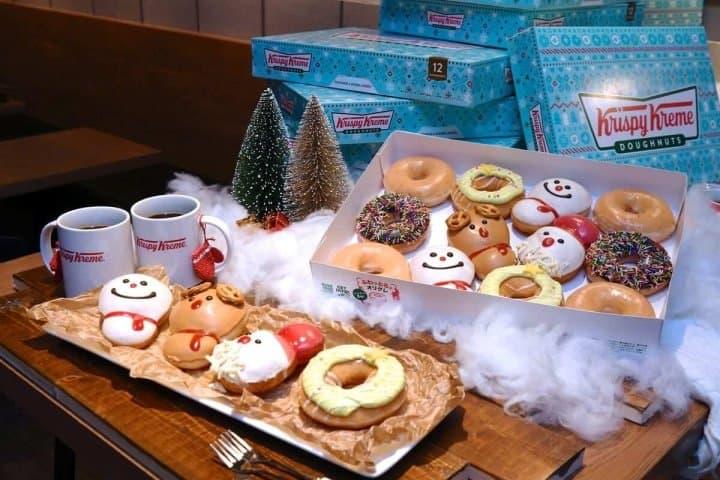 Krispy Kreme - Adorable Baby Merry Christmas Doughnuts