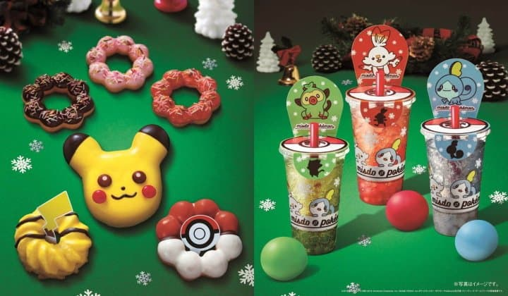 Pikachu Is Back At Mister Donut For Christmas