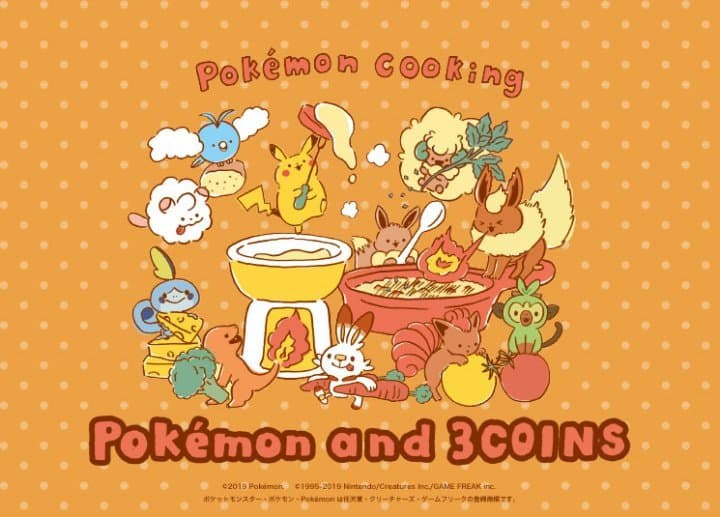 Pokemon & 3COINS Top