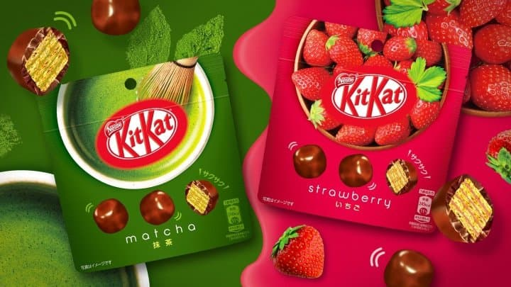 KitKat Japan - Chocolate Orange, Matcha Milk Chocolate And Ruby