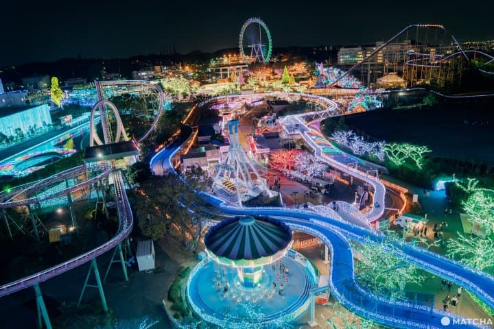 A Theme Park Full Of Jewels! Illuminations At Yomiuriland In Tokyo