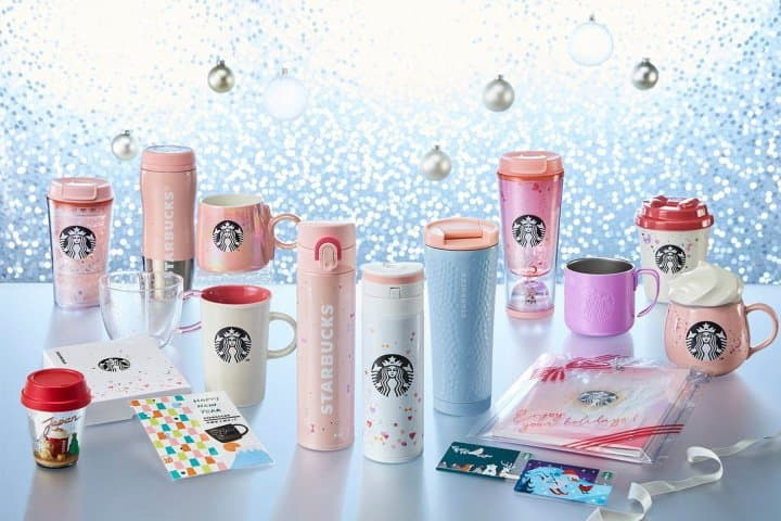 New Starbucks Christmas Goods And Nutty White Chocolate Beverages