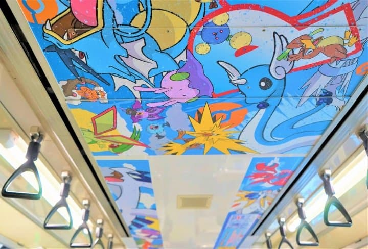 Cashless With Welcome Suica! Ride The Pokémon-Themed Tokyo Monorail