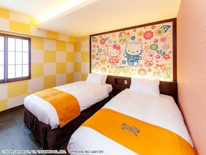 可愛到讓你不想踏出房門!日本首間「三麗鷗」主題飯店在沖繩!