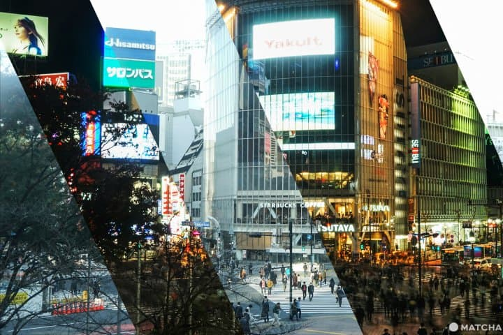 朝と夜で違う顔を見せる東京の魅力