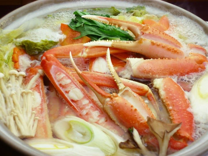 Japanese Snow Crabs: Savor Winter Seafood At 3 Inns By The Sea Of Japan!
