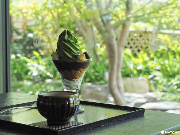 【银座】隈研吾设计!在歌舞伎座屋顶庭园品味百年茶甜点 寿月堂