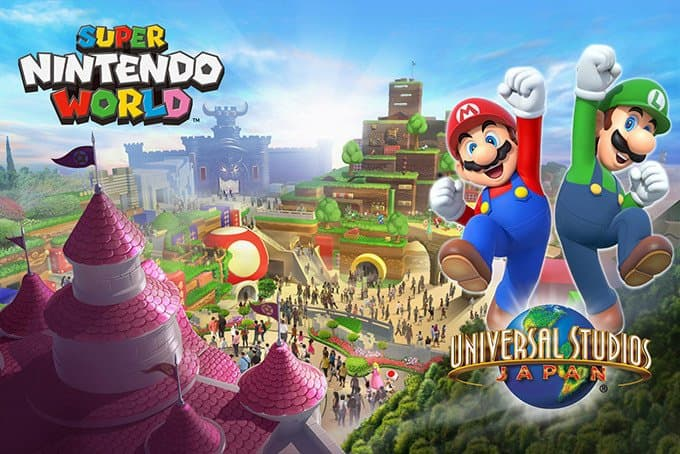Universal Studio Japan เตรียมเปิดโซนใหม่ SUPER NINTENDO WORLD