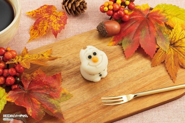 Olaf From Frozen As Adorable Daifuku At Seven-Eleven