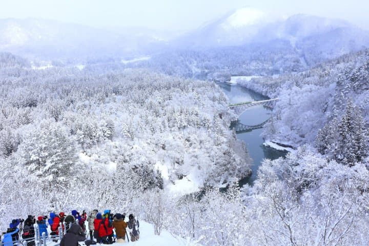 See Snow In Japan! Fukushima's Winter Festivals, Food, And Nature