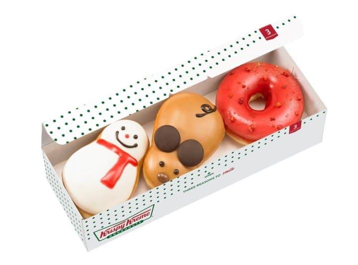 Krispy Kreme Christmas Doughnuts 2020 Krispy Kreme Japan Releases Adorable Mouse Doughnut For Year Of