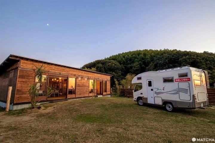 Kagawa Gastro Tours: Camping Car Plan