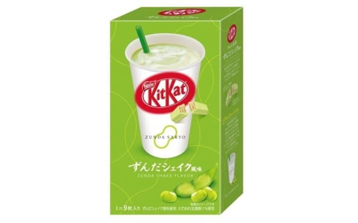 KitKat Zunda Shake Inspired By Sendai's Famous Green Soybean Milkshake