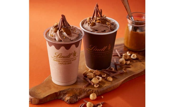 Lindt Gianduja Chocolate Drinks - A Year-Round Delight