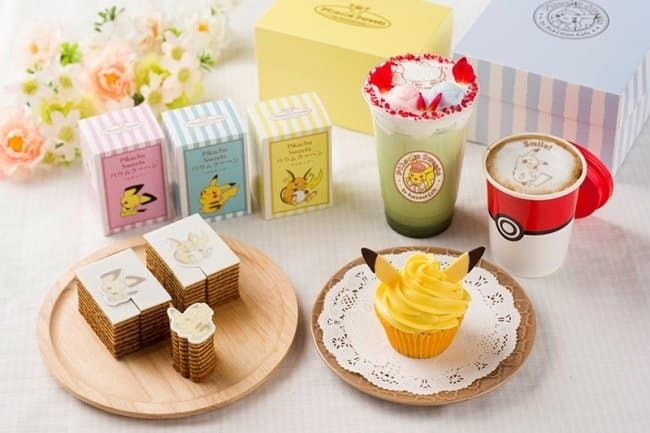 Pikachu Sweets By Pokémon Cafe - No Reservations Needed