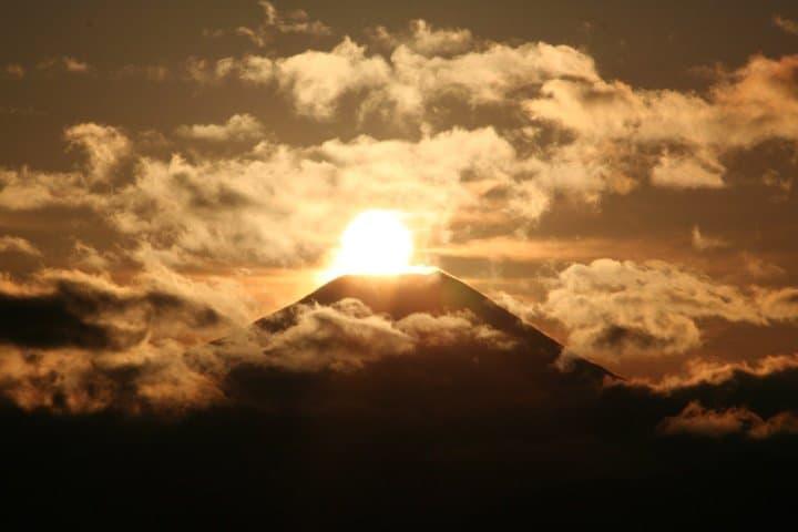 高尾山 鑽石富士