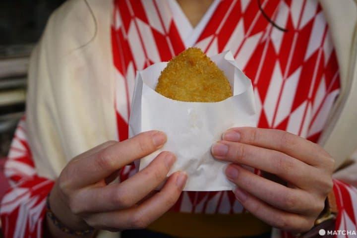 岡重可樂餅