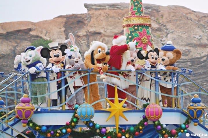 2019【东京迪士尼海洋】最后的绚彩圣诞留下难忘圣诞回忆!