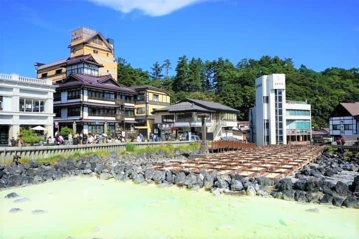 Exploring Kusatsu Onsen: Stylish Cafes, Great Scenery, And Souvenirs
