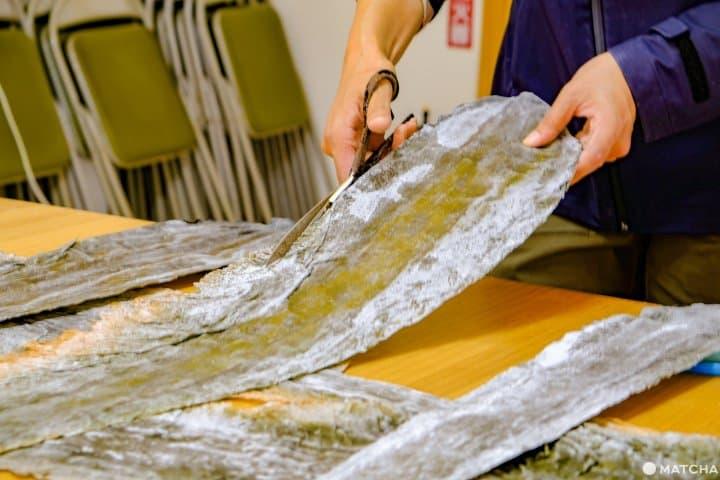 北海道・道東「知床羅臼Lincle」,剪昆布與手沖高湯的料理小教室行程