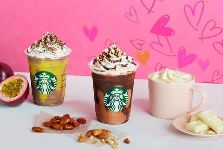 Starbucks Valentine's Beverages And Goods - All Hearts And Chocolate