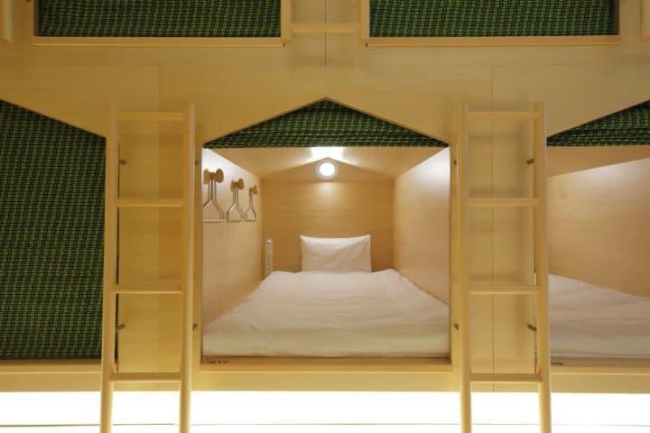 MAJA HOTEL KYOTO - A Scandinavian Cuisine And Design Capsule Hotel