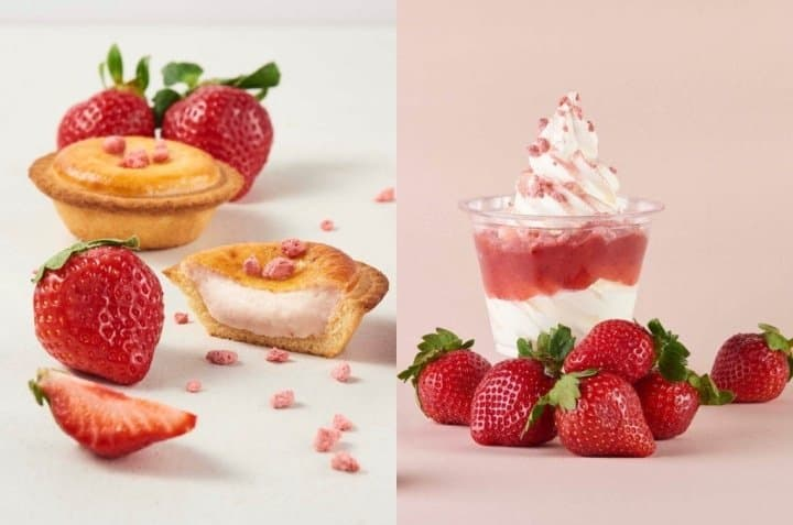 草莓甜點!現烤起司塔專門店BAKE CHEESE TART