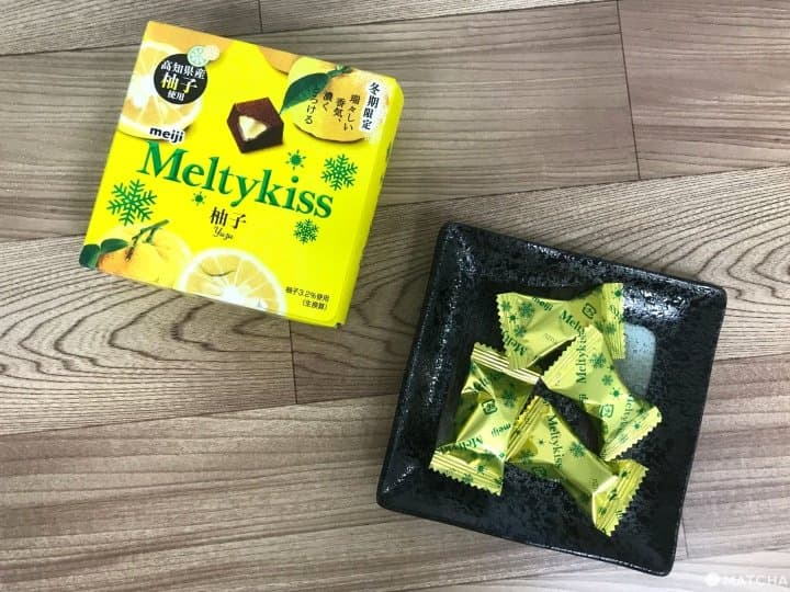 Meltykiss Yuzu - Limited-Edition Winter Flavor