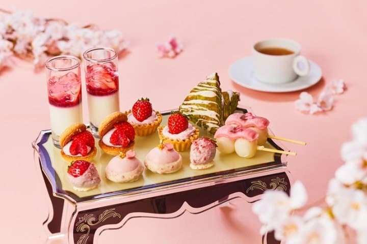 Cherry Blossom Desserts! Spring Afternoon Teatime In Tokyo