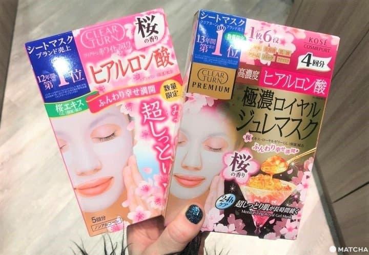 Seasonal Cherry Blossom Sheet Masks
