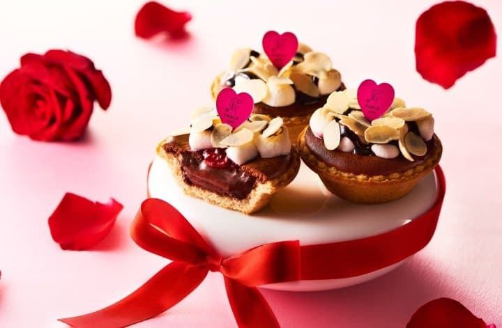 Pablo Valentine's Day Chocolate Cheese Tarts - A Heavenly Combination!