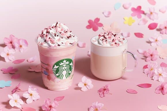 Starbucks Sakura Beverages And Goods - The First Sign Of Spring