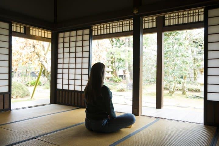 【雨天】在京都「两足院」体验坐禅,静心,听不见雨声的境界