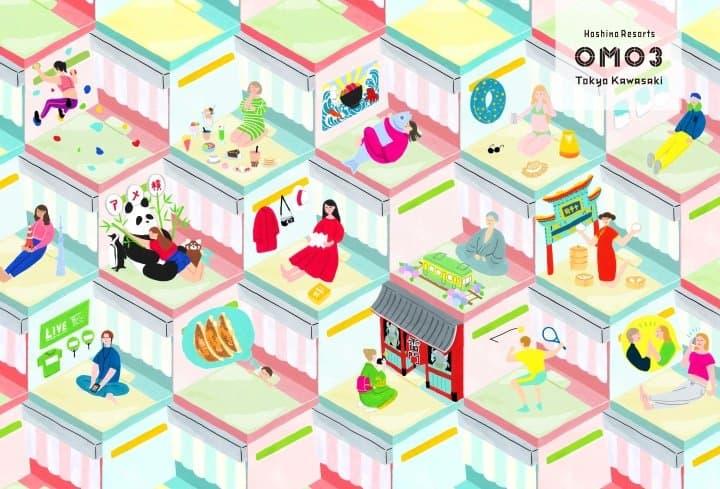 Art Contest! Have Your Artwork Displayed At OMO3 Tokyo Kawasaki