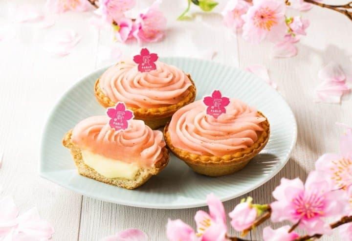 Pablo Mini Sakura Mochi Cheese Tart For Cherry Blossom Season 2020