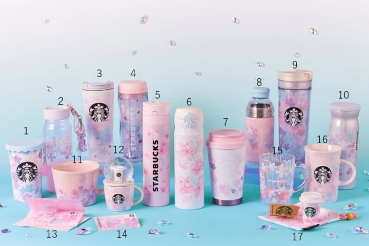 Starbucks Sakura Sakuranbo Frappuccino And New Spring Goods