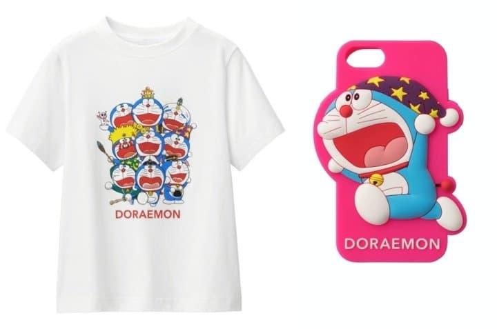 日本平價品牌GU、ASOKO 哆啦A夢聯名